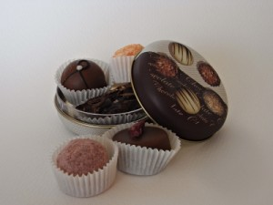 Pralinen-schokoladengeschenke